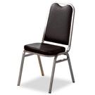 餐椅 FB-854-8 黑皮勇士椅 (銀...