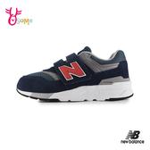 New Balance 997H 中大童 運動鞋 麂皮復古慢跑鞋 P8467#藍色◆OSOME奧森鞋業