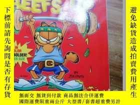 二手書博民逛書店英文原版罕見加菲貓漫畫 Garfield Beefs Up: H