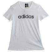 Adidas GFX SS T LINEAR  短袖上衣 DM5321 女 健身 透氣 運動 休閒 新款 流行