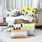 長方形沙發腰靠墊不含芯床頭靠墊客廳沙發抱枕套腰【母親節禮物】