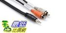 [美國直購 ShopUSA] Hosa Cable CMR210 Stereo 1/8 Inch to Dual RCA Adapter Cable - 10 Foot $599