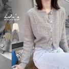 LULUS【A03200120】Y羅紋邊針織外套4色