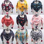 兒童脖圍圍巾圍脖兒童圍巾男女童正韓寶寶三角巾可愛嬰兒小孩保暖圍脖秋冬百搭潮