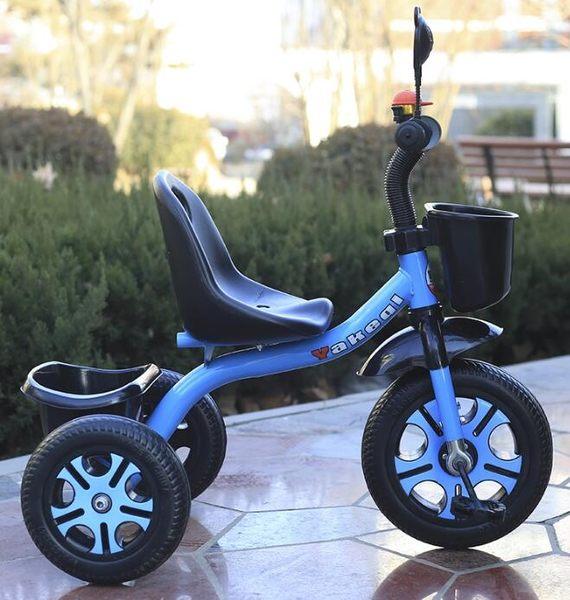 兒童三輪車腳踏車小孩單車1-3-6歲手推車男女玩具童車寶寶自行車YYP     琉璃美衣