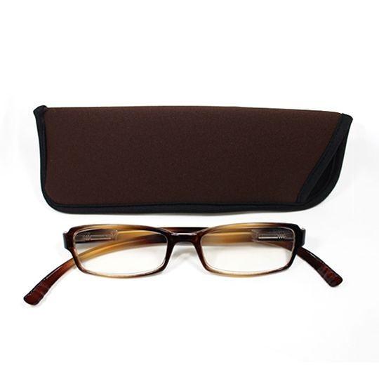 日本專利設計老花眼鏡 Neck Readers (沉穩棕色) 可濾藍光、抗紫外線【S Life 若返生活】