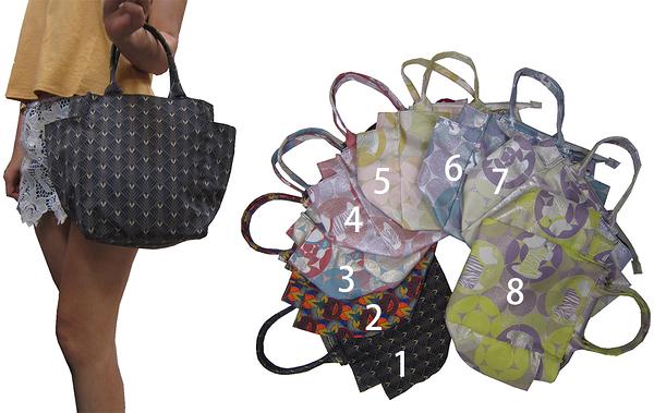 ~雪黛屋~JAZE 手提袋中容量水瓶外袋簡易外出防水尼龍布材質手提簡單餐袋萬用BOPQ4001210136