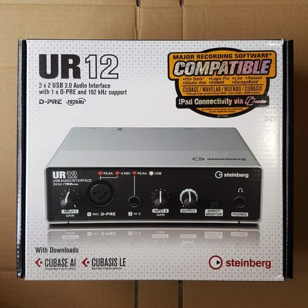 【Wowlook】全新 steinberg UR12 USB 錄音介面