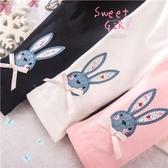 小花拼布兔兔棉質內搭長褲-3色(300229)【水娃娃時尚童裝】