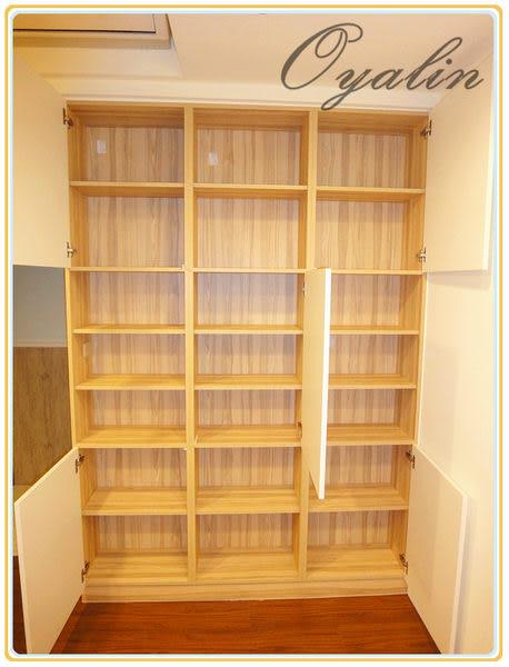 【歐雅系統家具】系統櫃 跳格造型 系統書櫃 系統收納櫃 EGGER E1-V313防潮塑合板 客製化訂做