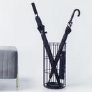 雨傘架 北歐創意鐵藝雨傘架家用落地放傘架酒店大堂雨傘收納架放傘桶商用 印象家品