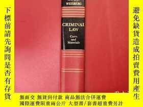 二手書博民逛書店KAPLAN罕見WEISBERG CRIMINAL LAW Ca