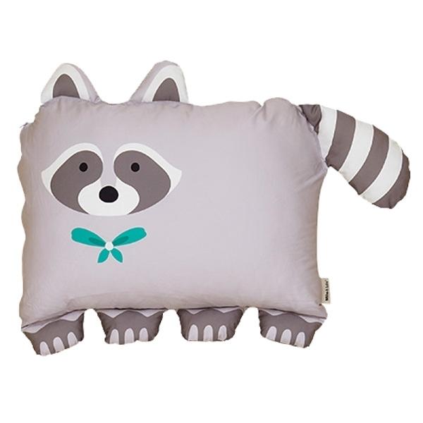 美國 Milo&Gabby 動物好朋友-大枕頭套-AMI浣熊