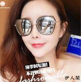 2018韓版墨鏡女潮圓臉偏光太陽鏡