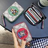 卡包女式多卡位正韓可愛信用卡片包個性小巧迷你零錢包簡約名片夾 青木鋪子