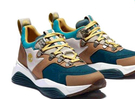 [COSCO代購] W131759 Timberland 女休閒絨面拼接運動鞋