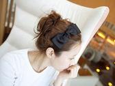 韓版緞面大蝴蝶結造型髮箍【Miss.Sugar】【K4003865】