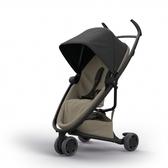 Quinny Zapp X FLEX 嬰兒手推車(三輪/獨立把手)-標準版(黑篷棕布)贈提籃+雨罩[衛立兒生活館]