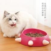貓碗斜口狗碗泰迪小型犬防滑飯盆