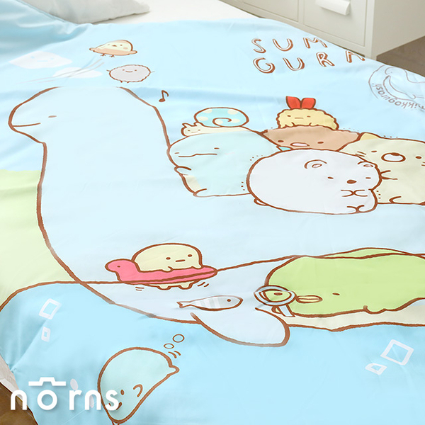【角落生物四季被 單人4×5尺】Norns 正版授權 棉被寢具 涼被 恐龍媽媽
