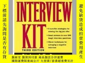 二手書博民逛書店罕見二手!The Interview KitY205213 Ri