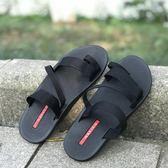 夏季休閒款透氣沙灘鞋越南男士夾腳涼拖鞋防滑潮套趾韓版涼鞋2019