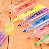 韓國文具 糖果色香味大容量螢光筆【庫奇小舖】