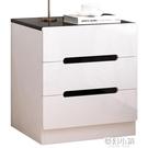 床頭櫃簡約現代迷你小型置物架簡易收納小櫃子臥室床邊儲物櫃北歐 ATF夢幻小鎮