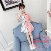 女童洋裝 女童連衣裙夏裝2020新款兒童超洋氣公主裙大童裝小女孩雪紡裙子潮【中秋節預熱】
