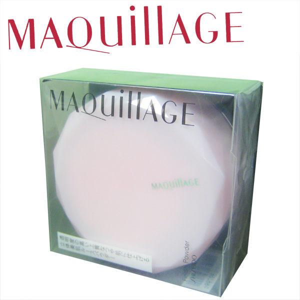 【資生堂】MAQuillAGE心機底粧系列 心機透蜜粉(10g)