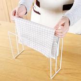 ✭米菈生活館✭【N362】立式鐵藝抹布掛架 廚房 抹布掛架 洗碗布 掛架 收納 居家 瀝乾