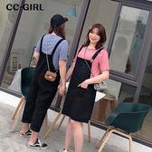 中大尺碼  黑色吊帶背心裙洋裝 - 適XL~4L《 68092HH 》CC-GIRL