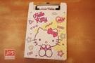 Hello Kitty 凱蒂貓 PP板夾附便條紙 白點點 958851