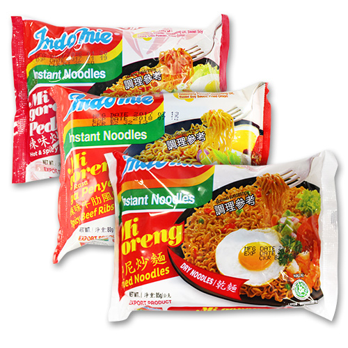 印尼炒麵85g/印尼辣味炒麵80g/辣味牛肋炒麵80g【BG Shop】3款供選/最短效期:2021.04