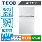 TECO 東元 R1011W 101公升...
