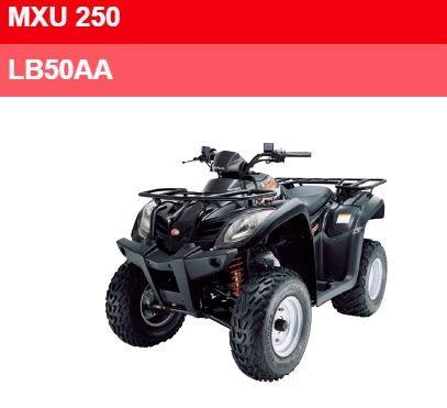 KYMCO 光陽 ATV 全地形功能車MXU 250