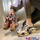 運動鞋 歐洲站巴黎老爹鞋女潮超火百搭網紅厚底2021年春季新款運動鞋寶貝計畫 上新