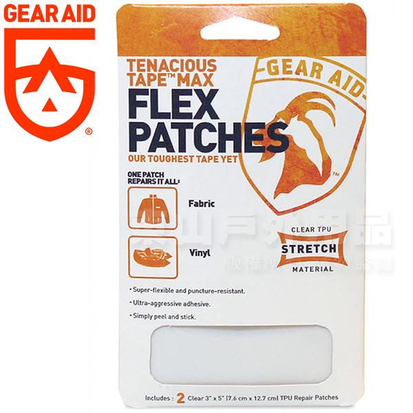 Gear Aid McNett 10800_透明 Tenacious Tap彈性修補貼片 膠帶狀透明補丁/緊急修補包修護片/戶外工具
