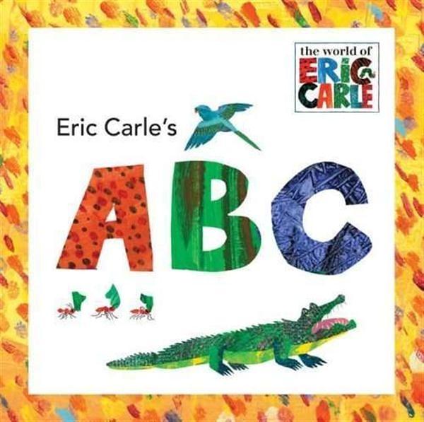(二手書)Eric Carle's ABC