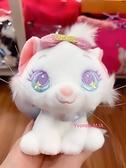 *Yvonne MJA*日本迪士尼正版商品 瑪麗貓 彩虹版 娃娃吊飾