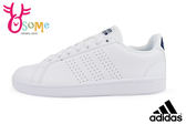 adidas板鞋 男休閒鞋 CF Advantage CL 學生鞋 網球運動鞋O9370#白◆OSOME奧森童鞋/小朋友