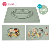 美國 EZPZ-矽膠幼兒餐具/ Happy Mat快樂防滑餐盤 (抹茶綠) 845元