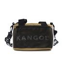 KANGOL 側背包 圓筒包 卡其色 6125170530 noC70