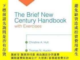 二手書博民逛書店Brief罕見New Century Handbook With Exercises The (with Myco