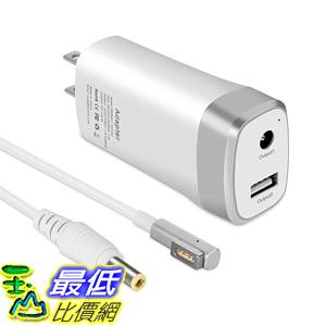 【美國代購】MacBook Air的45W迷你充電器11 13英寸 Magnetic 1 L-tip 輕巧便攜 額外的USB端口