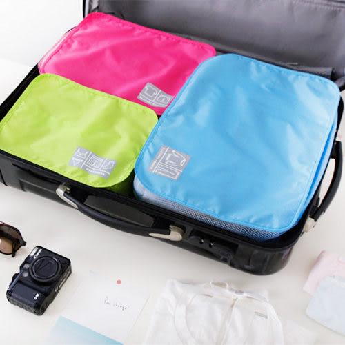 ♚MY COLOR♚旅遊旅行 化妝包 包中包 收納包 旅行組 防水收納袋 網狀透氣收納袋 鞋袋【T12】