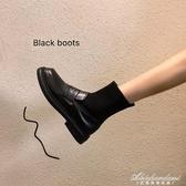 彈力襪子靴女2020年新款連襪靴秋季馬丁鞋子單靴春秋靴子瘦瘦短靴 黛尼時尚精品