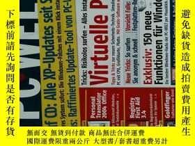 二手書博民逛書店PC罕見WELT Magazine 2006年4月 個人電腦雜誌 可用樣板間道具雜誌Y14610