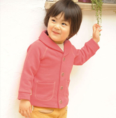 Double Love 日本冬季皮馬棉刷毛寶寶保暖外套/童裝/西裝外套【HF0007】