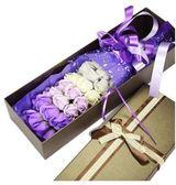 33朵仿真玫瑰香皂花束肥皂花畢業禮盒男女友生日禮物創意(主圖款)